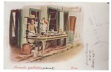 1907 Netherlands Indies RPPC Postcard Cover to Prague Austria Chinese Restaurant