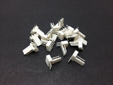 10pcs 2.54mm pitch spacing 3 Pin 3P PCB Angle Header PC Cooling Fan Connector