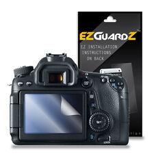 3X EZguardz Camera Screen Protector Skin HD 3X For Canon Rebel EOS 70D (Clear)