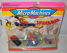 #7481 NRFC Vintage Galoob Micro Machines the Amazing Spiderman Collection #1
