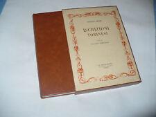 BOSIO ISCRIZIONI TORINESI TAMBURINI LE BOUQUINISTE 1970