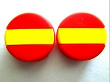 2 Spain Flags España Tennis Vibration Shock Absorber Dampeners Nadal Muguruza