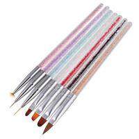1PC Nail Art UV Gel Liner Painting Gradient Brush Art Pens Manicure Nail Tools
