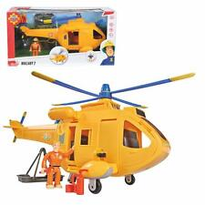 Fireman Sam - Mountain Rescue Helicopter Wallaby 2 with Tom Thomas Light & Sound