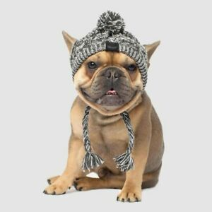 Warm Knitted Dog Autumn Winter Cap Dogs Pompom Hat Outdoor Headgear Hats Clothes
