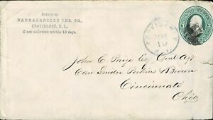 USA - POSTAL STATIONERY COVER - USED - W 506