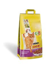 Go-Cat Purina Dry Cat Adult Complete Food Chicken and Duck Health Nutrients 10kg