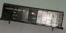 O Brass Vintage Pacific Seaboard box car and couplers scale O 2R