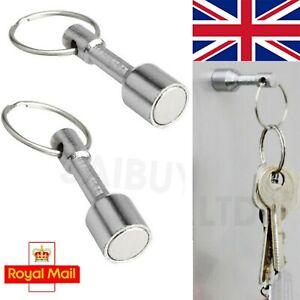 Magnetic Metal Keyring Keychain Magnet Tool