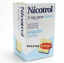Nicotrol Nicotine Gum 2 MG Classic Flavor (2625 Pieces, 25 Boxes) FRESH