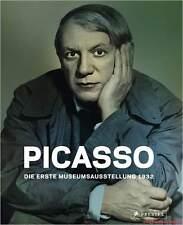 Fachbuch Pablo Picasso, Erste Museumsausstellung 1932, REDUZIERT statt 39,95€