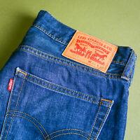 Levi 511 Jeans Blue Slim Fit Zip Fly Vintage Men's (LabelW31L32) W 31 L 31