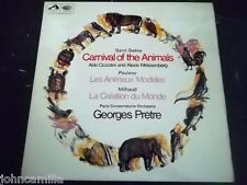 "SAINT-SAENS - CARNIVAL OF THE ANIMALS - GEORGES PRETRE - 12"" LP - HMV - ASD 2316"