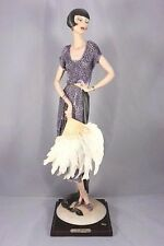 """Giuseppe Armani """"Lady with Fan"""" #387 C Limited Edition/ 5000!"""