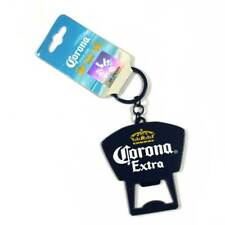 Corona cerveza beer extra blue keychain bottle opener licensed