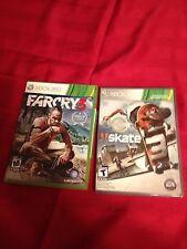 Skate 3 & Far Cry 3- Xbox 360 L@@K