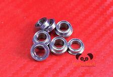 [10PC] SF624zz (4x13x5 mm) Stainless Flanged Ball Bearing Bearings F604zz 4 13 5