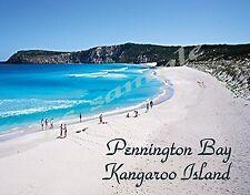 Australia - Kangaroo Isl PENNINGTON BAY - Travel Souvenir FLEXIBLE Fridge MAGNET