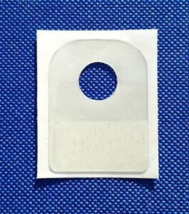 Strong SINGLE HOLE Self Adhesive  Hole Slot Hang Tab Hook Euro Tabs