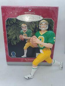 NFL Hallmark Keepsake Christmas Ornament Joe Montana NFL Weihnachten
