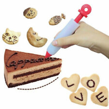 Cream Cup Cake Writing Pen Icing Piping Accessories Cookie Pastry Nozzles