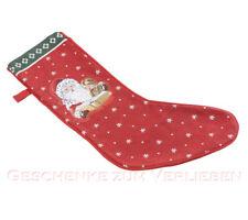 Villeroy & Boch Winter´s Tale 2 Stück Stiefel aus Gobelin Weihnachten Kaminsims