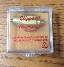 Clippard Minimatic Needle Valves Needle Valve, #10-32 Ports MNV-1