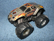 "2001 Hot Wheels Monster Jam Maximum Destruction Rev Tredz 4 1/2"" Push & Go Truck"