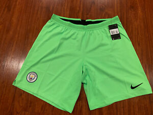 2018-19 Nike Mens Manchester City Away Player Issue Soccer Jersey Shorts XXL 2XL