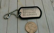 Sentinel 1 Barracuda Keychain Dog Tag