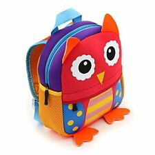 IGNPION Nursery Kids Backpacks Toddle Children School Bag Zoo Lunch Bag 3D Cute