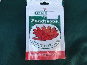 Plantabbs Products 0171 Pondtabbs Aquatic Plant Food - 20 Count