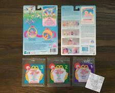 G2 Vintage My Little Pony/Ponies Lot of 5 McDonald's+European Backcard + Bag Acc