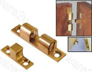 Multi-Angle Mount Cupboard Wardrobe Cabinet Brass Ball Catch 50mm (BDBC50)