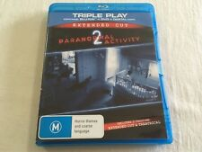 Paranormal Activity 2 (2010) - Theatrical & Extended Blu-Ray + DVD | VGC