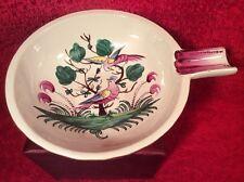Antique Henri Chaumeil Birds of Paradise Bowl c1890-1920, ff376  GIFT QUALITY!!