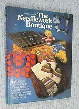 1977 The Needlework Botique Annette Feldman Rutldege Books Large hc dj FREE S/H