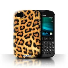 STUFF4 Phone Case for Blackberry Smartphone/Leopard Animal Skin/Print/Cover