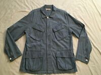 J.Crew Wallace & Barnes Chambray Work lightweight Jacket Blue Men's Large