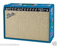 New Fender® FSR '65 Deluxe Reverb Blue Flower Combo Amp