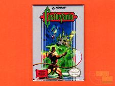 "NES Castlevania box art 2x3"" fridge/locker magnet Nintendo classic Konami"