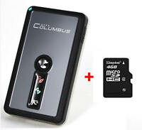Columbus V-990 Mark II GPS Data Logger + 4GB card formatted with FAT for V-990