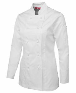 Ladies Long Sleeve Chefs Jacket
