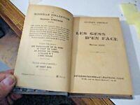 LES GENS D'EN FACE di G. SIMENON - FAYARD PARIS 1933 prima edizione