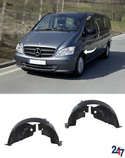 FRONT INNER WHEEL ARCH COVER SET COMPATIBLE WITH MERCEDES BENZ VITO W639 10-14