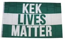 Kek Lives Matter Kekistan 3x5 Feet Banner Flag