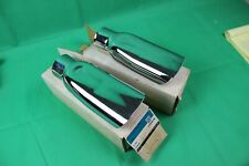 2 NOS GENUINE GM 69-72 396 454 CHEVELLE EXHAUST TIPS EXTENSION LS6 LS5 3956756