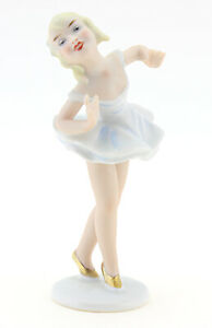Small Wallendorf Ballerina Girl Figurine