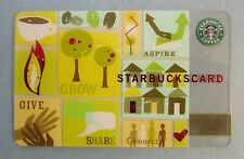 Starbucks Card - Aspire 2006 - Limited Edition, Retired, Rare & VHTF with Sleeve