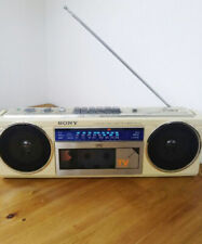 CFS-V5 SONY Radio Cassette Player AM/FM tested working good F/S